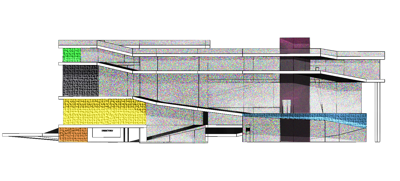 Front Elevation New : Dab d imaging elevations section