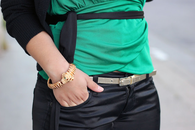 Emerald, Black and Gold
