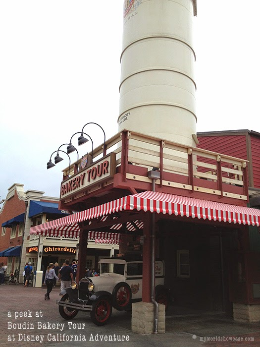 Boudin Bakery Tour at DCA