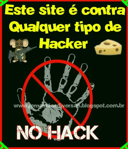 O JMD é contra qualquer tipo de Hacker que prejudique as pessoas!