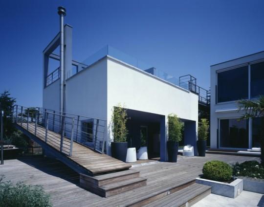 Casa Moderna Con Piscina Y Vista Al Mar Ideas Para