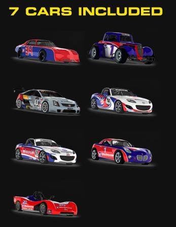 7 Free Cars Included in Free iRacing Offer