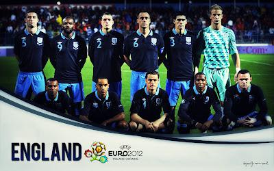 England Squad On Euro 2012 Wallpaper