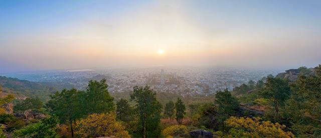 Панорама Тируванамалаи. Вид с Аранучалы
