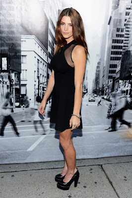 ashley greene, ashley greene dress, ashley greene dkny, ashley greene fashion show, ashley greene black dress, ashley greene womens spring 2013, ashley greene pics, ashley greene photos, ashley greene photoshoot