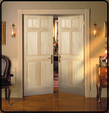 contoh model pintu kamar yang menarik desain rumah minimalis