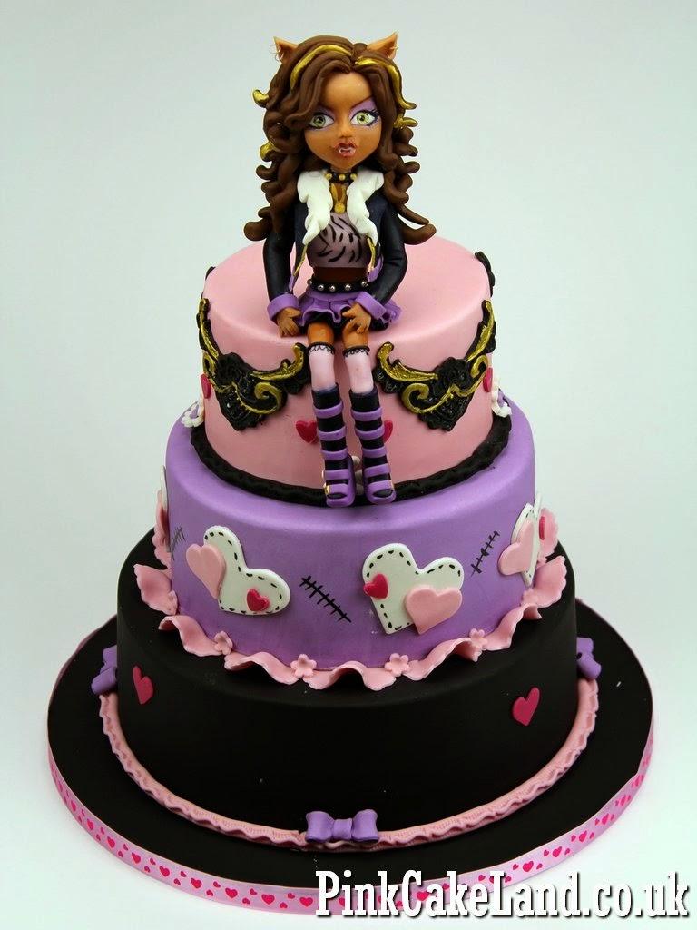 Monster High Birthday Cake for Girl