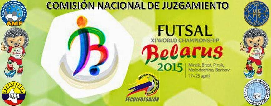 COMISIÓN NACIONAL DE JUZGAMIENTO DE FÚTBOL DE SALÓN - COLOMBIA -