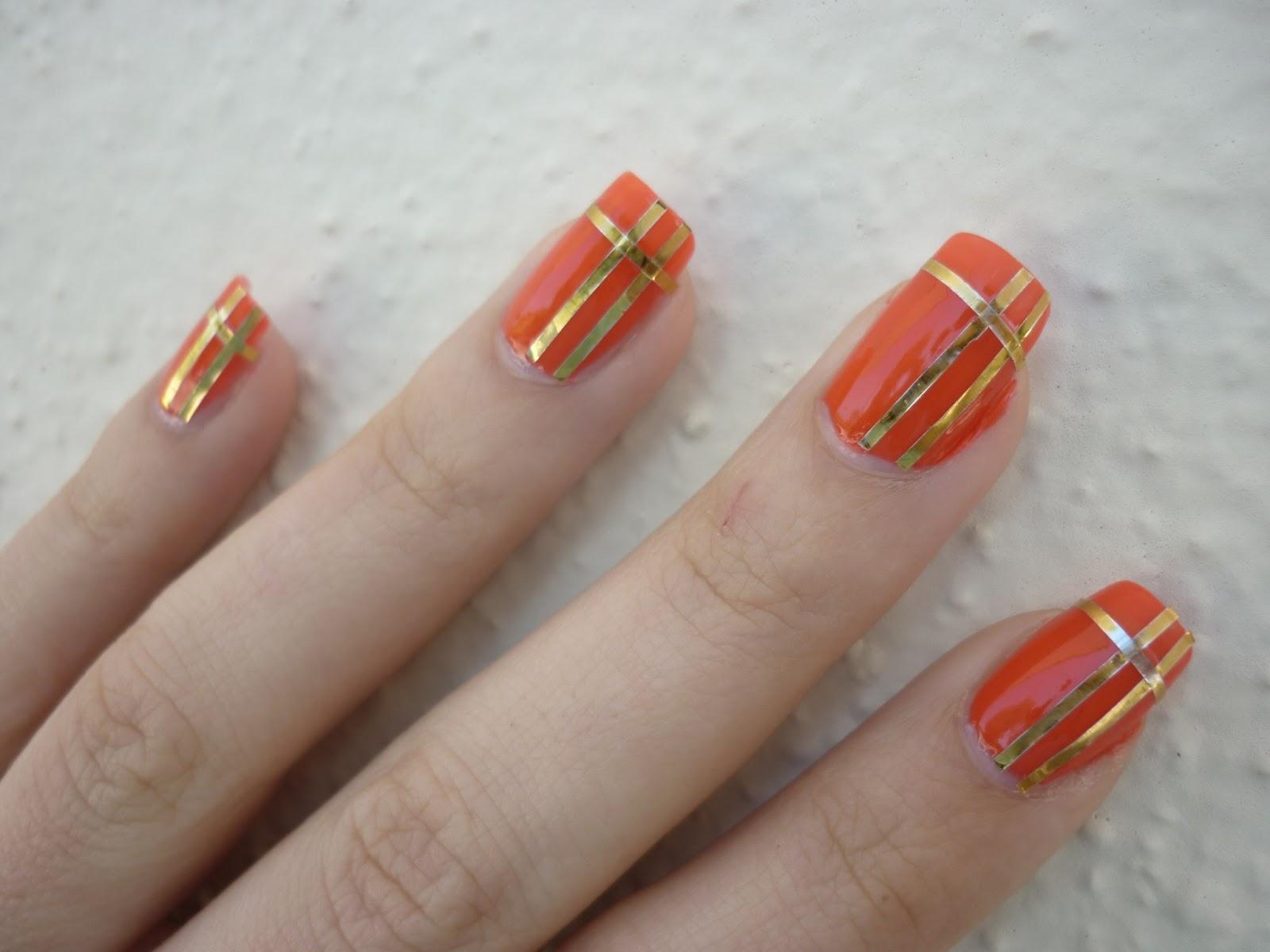 Conosciuto Nail art by Rachele e non solo: Unghie decorate con lo Striping  YP65