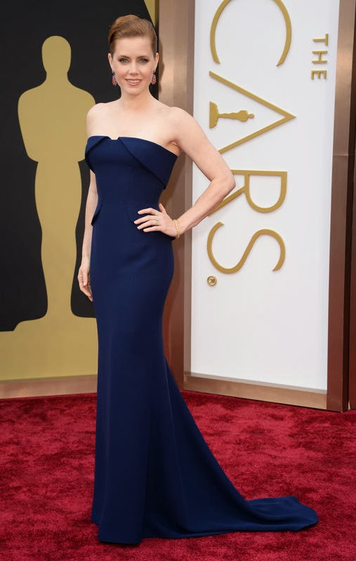 Oscars 2014 Red Carpet, Amy Adams