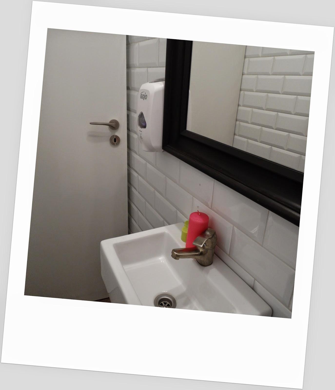 Zdrowe Love, kolorowa toaleta