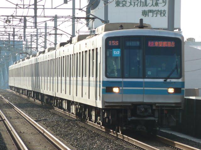 東京メトロ東西線 快速 東葉勝田台行き1 05系LED