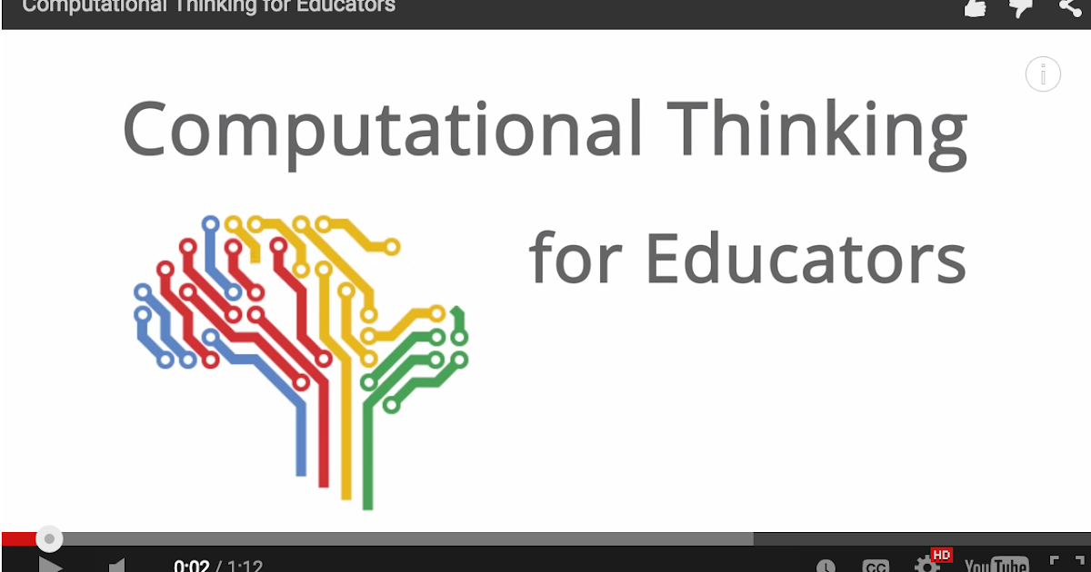 Google Offers A Free Online Computational Thinking Course for Educators