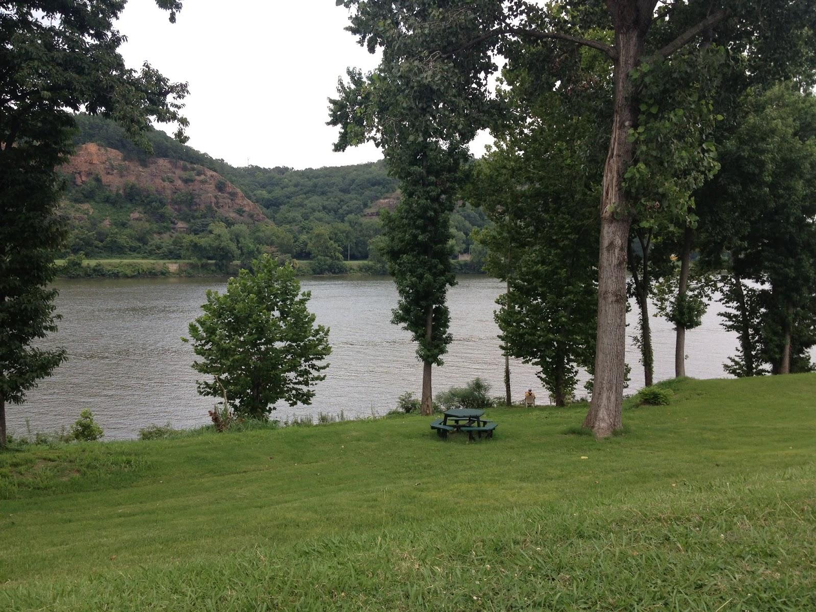 polka dotty place arkansas river in our backyard