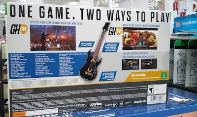 Guitar Hero Live features 2 modes to play: GH Live and GH TV