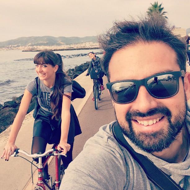 @jescortes autoretrato en bici