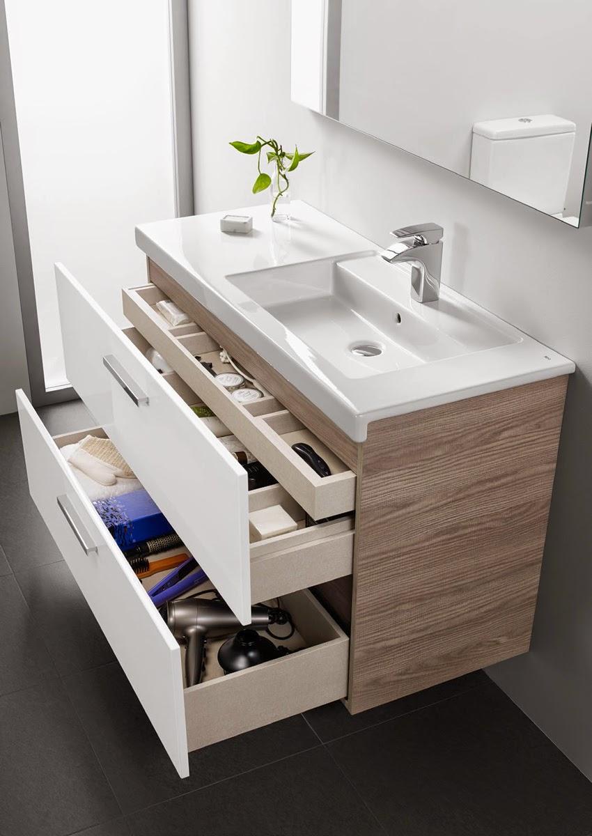 Dise o en el ba o decoraci n patri blanco - Muebles de bano para debajo del lavabo ...