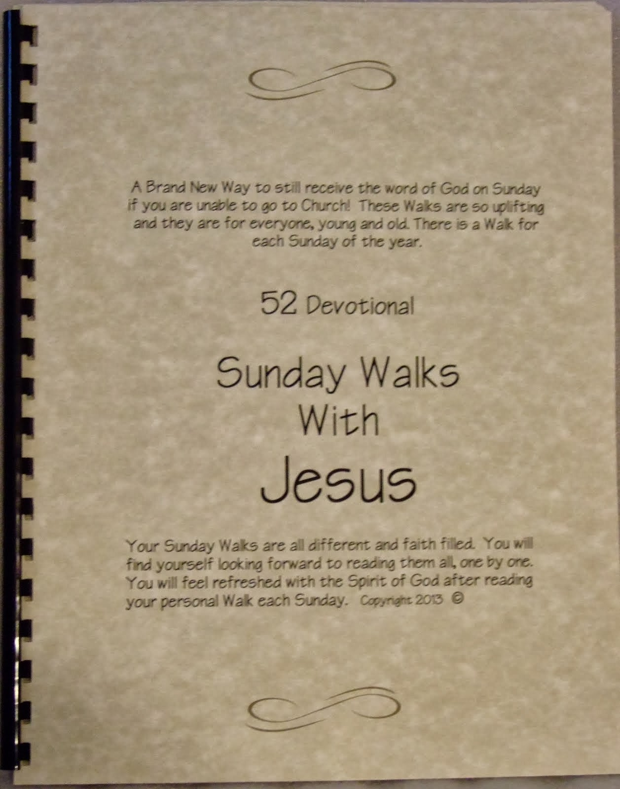 Sunday Walks with Jesus