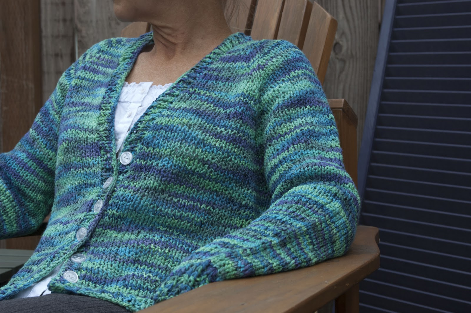 figknits: Fundamental Top-Down Cardigan for Women