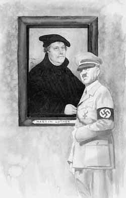 Lutero com Hitler