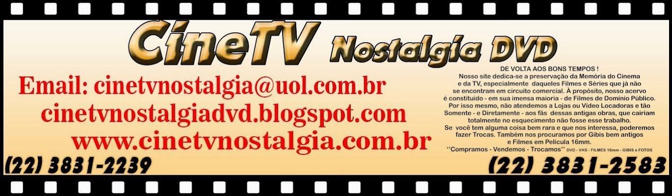 CINETV NOSTALGIA DVD PAULO TARDIN