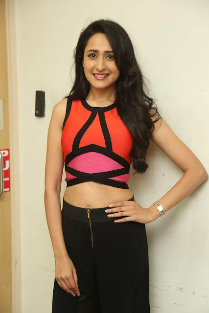 Tollywood Actress Pragya Jaiswal Hot Red FM Images