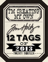 My Tim Holtz Tags of 2013