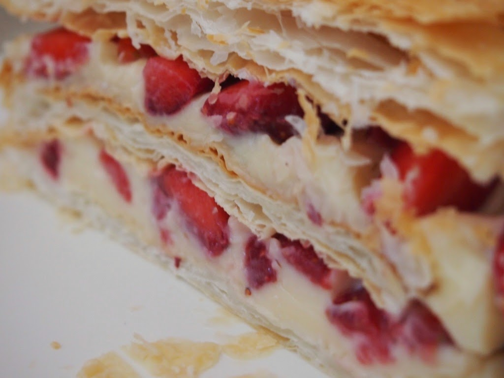 Strawberry Millefeuilles (LF)