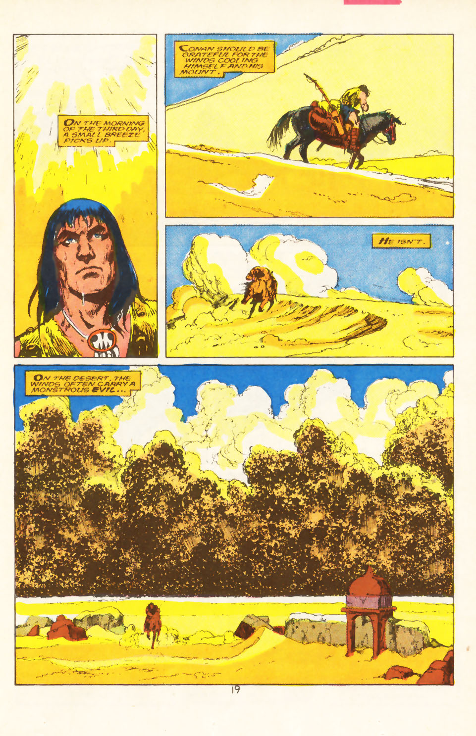 Conan the Barbarian (1970) Issue #211 #223 - English 16