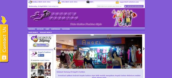 Af-Webstore.com Toko Online Fashion Terpercaya