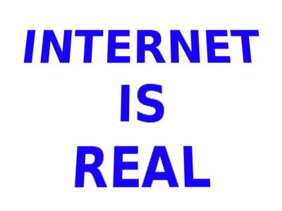 Internet itu nyata