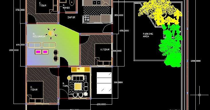 DESIGN RUMAH TINGGAL: Denah Rumah tinggal Ukuran 12 x 15