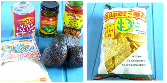 Ingredientes Nachos