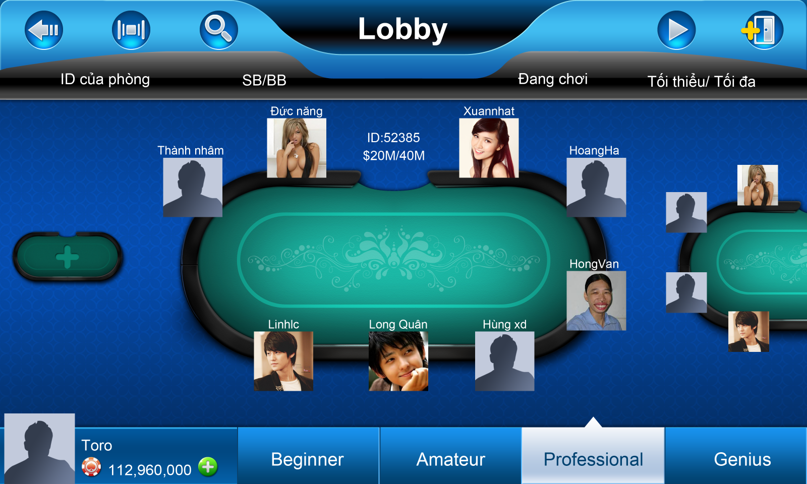 game bai poker air