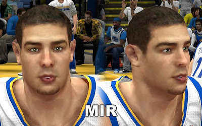 NBA 2K13 David Lee Cyberface Patches