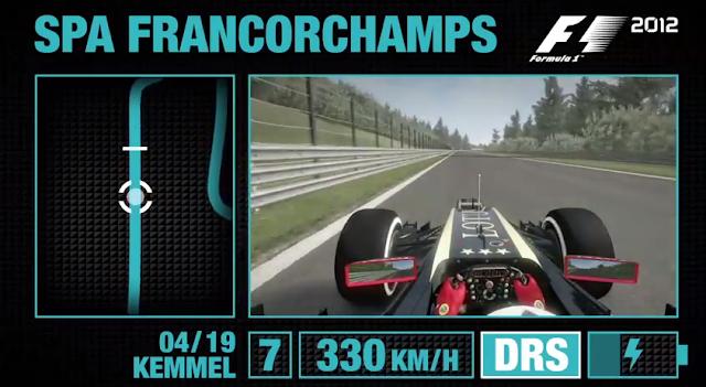 Onboar en SPA F1 2012