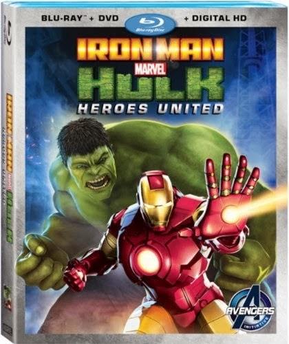 Iron Man y Hulk Héroes Unidos (2013)