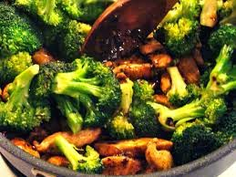 Chinese chicken and broccoli nutrition facts
