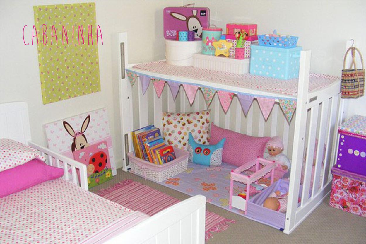 berço no quarto da criança ele pode se transformar em uma cabana #307E9B 1250x833