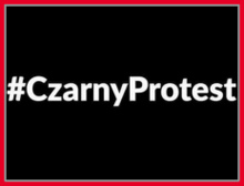 Popieram Czarny Protest