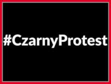 Popieram Czarny Protest