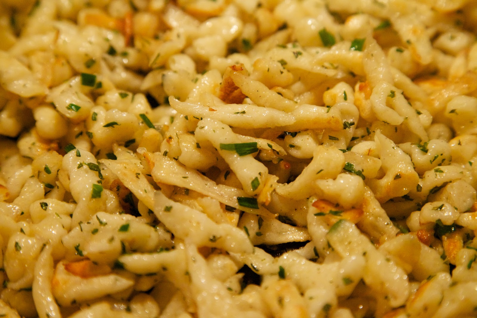 Mama Ozzy's Table: Herbed Spaetzle