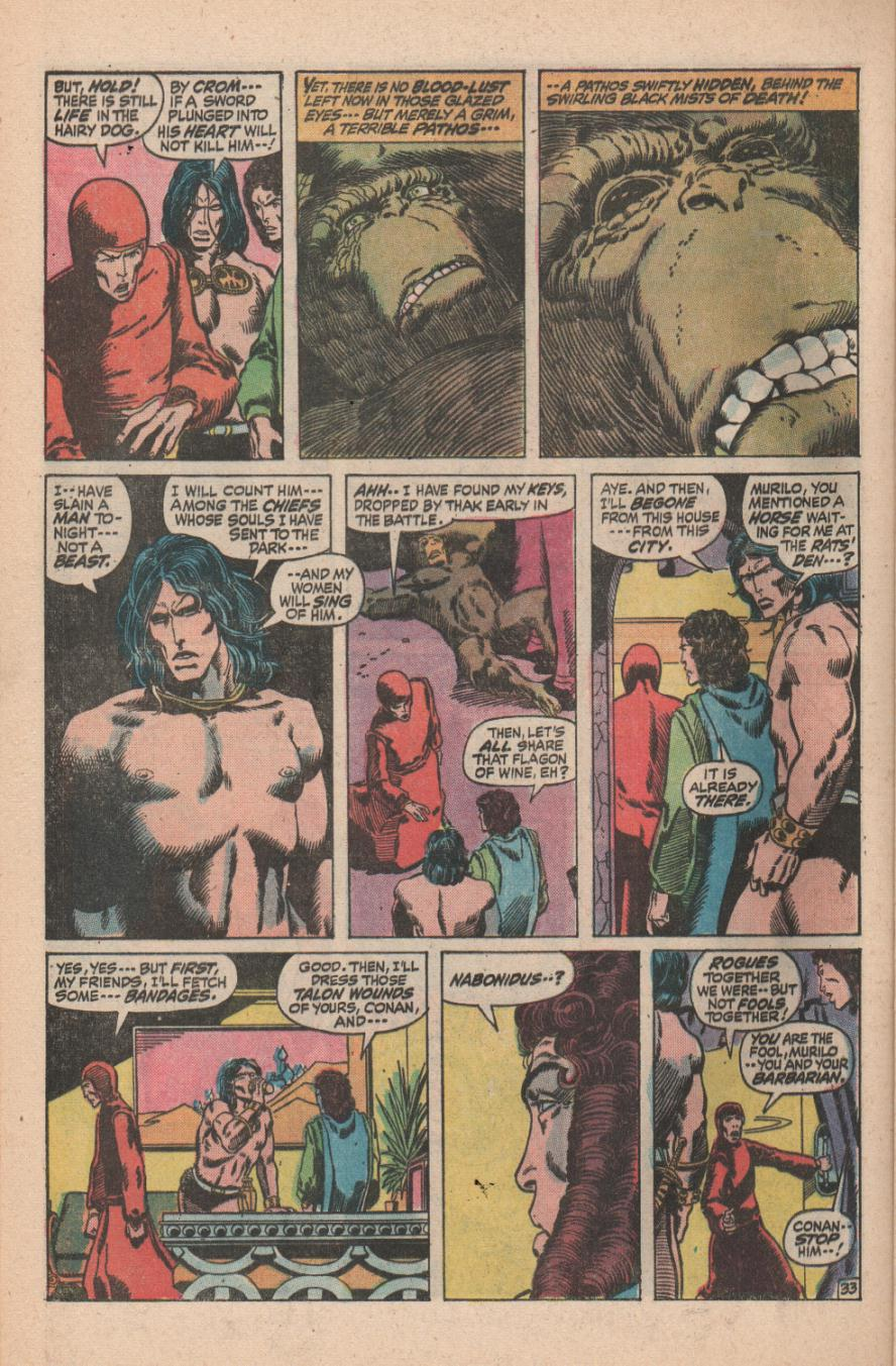 Conan the Barbarian (1970) Issue #11 #23 - English 46