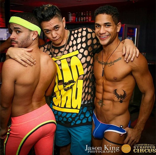 Latin Male Strippers