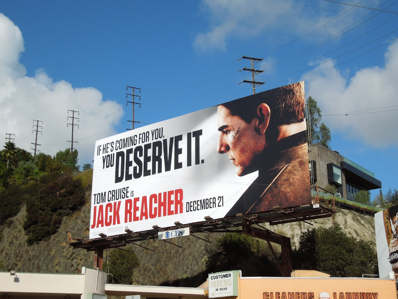 Jack Reacher movie billboard