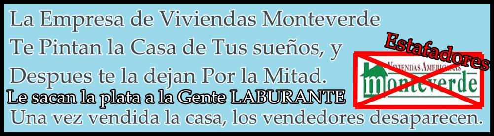 Viviendas Monteverde Estafadores