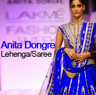 Lehenga and Saree Designs