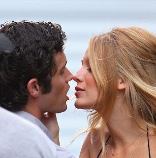 Blake Lively Dated on Blake Lively Boyfriend Penn Badgley 2012   All Hollywood Stars