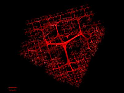 'fractal heart', Eric Baird 2011