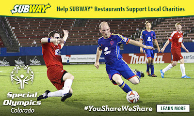 "Teach your kids to share this year with SUBWAY® Restaurants and the ""You Share. We Share"" campaign.  You'll do wonders for the local community and enjoy a yummy meal."